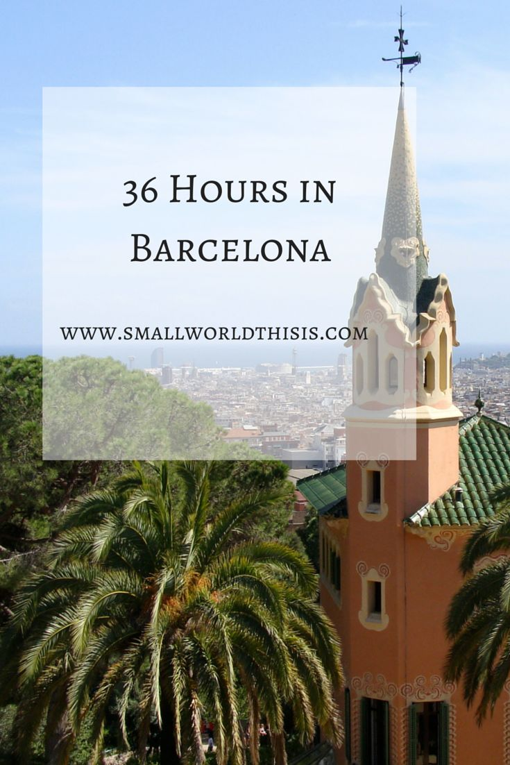 What I ate, saw and where I slept in my short stay in the capital city of Catalonia // #barcelona #travel