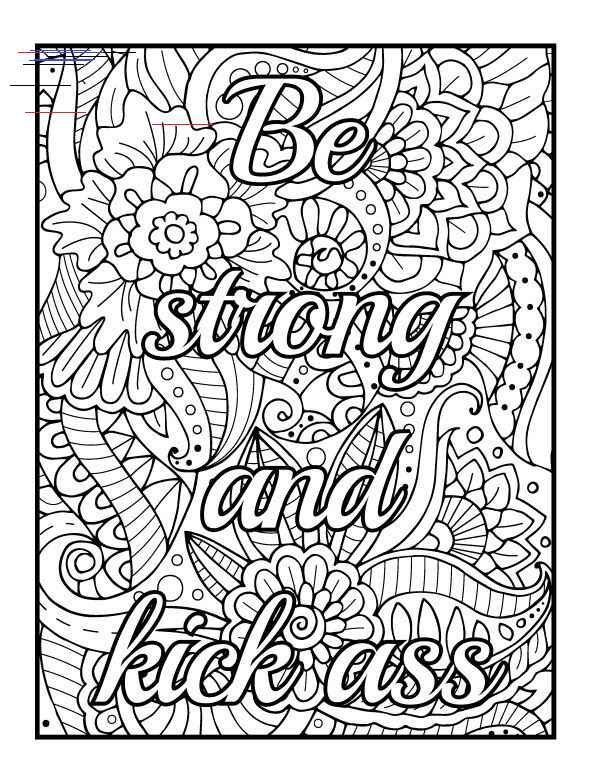 The Best Printable Adult Coloring Pages This Is A Downloadable