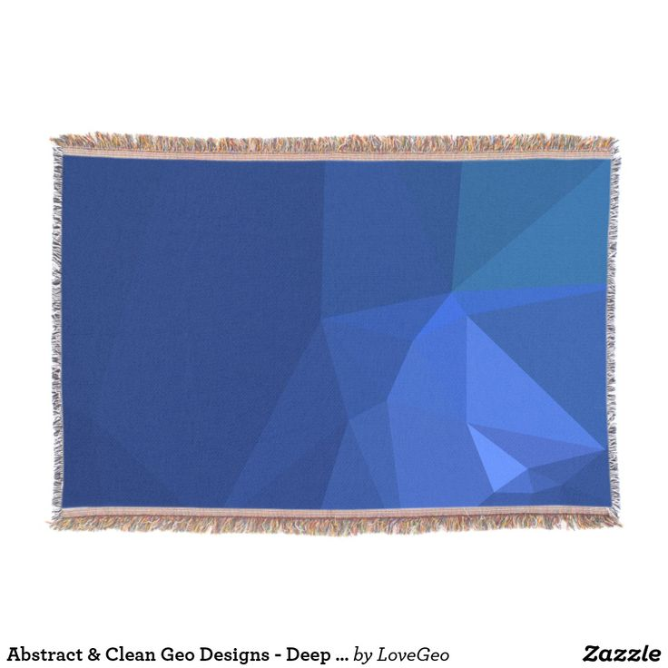 Abstract & Clean Geo Designs - Deep Navy Throw Blanket #LoveGeo #geometric #abstract #Uniquegifts #trendy #shopping #giftidea #personalized #throws #homedecor