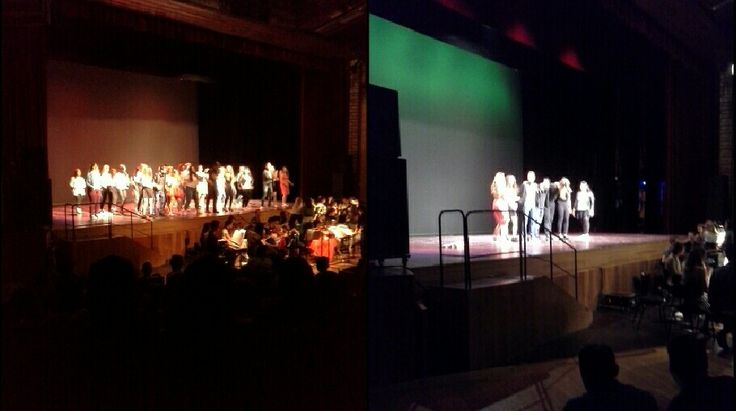 Grease, orchestra, coro e attori del Liceo Rosmini di Trento