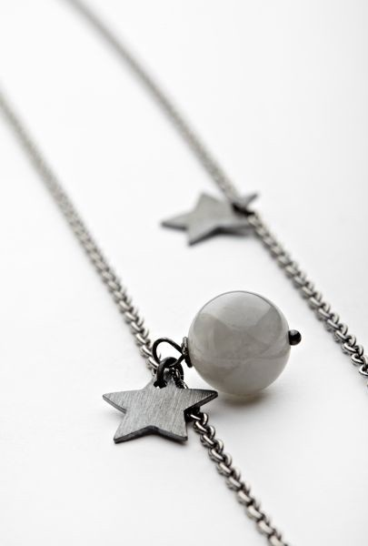 Pernille Corydon, Necklace Pearl and Stars, 350,-