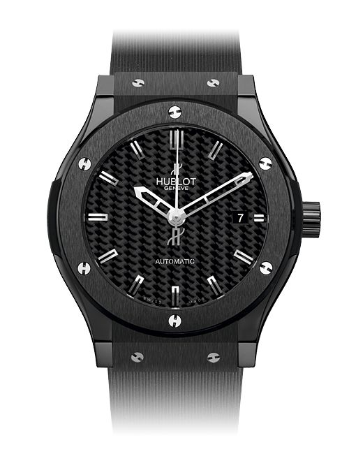 Hublot Black Magic 45mm - Classic Fusion - Black Ceramic watches