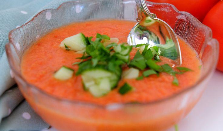 Ge smaklökarna en enkelbiljett till Madrid med sensommarens skönaste soppa…