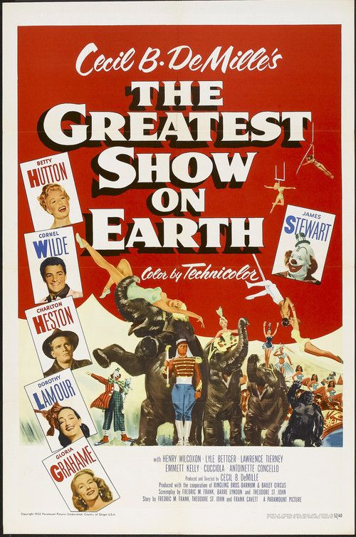The Greatest Show on Earth (1952) Full Movie Streaming HD
