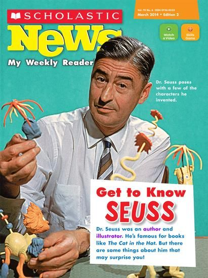 March 2014 - Get to Know Seuss