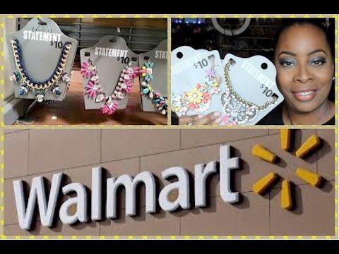 BACK to COLLEGE ACCESSORIES HAUL| Walmart Statement Necklaces