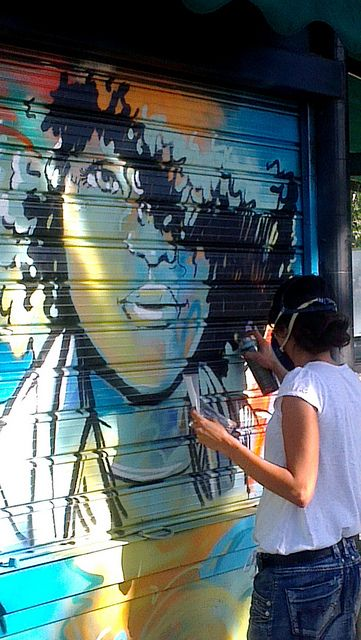 Alice Pasquini - Rome by AliCè, via Flickr
