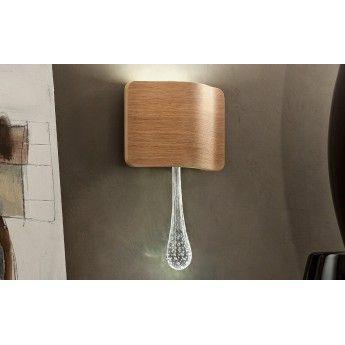 Ripple A1 - Masiero - kinkiet nowoczesny  abanet.pl #lampy_ekskluzywne #piękna_lampa #nowoczesny_kinkiet #oświetlenie_kraków #lampy_włoskie #oświetlenie