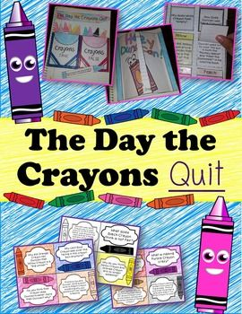 The Day the Crayons Quit by Drew Daywalt is such a great book. I decided that the book needs activities for students to really dive into other than worksheets that usually diminish all the excitement. After reading the book, have your students show off their artistic talents, comprehension strategies, and imaginative writing by working on these activities.