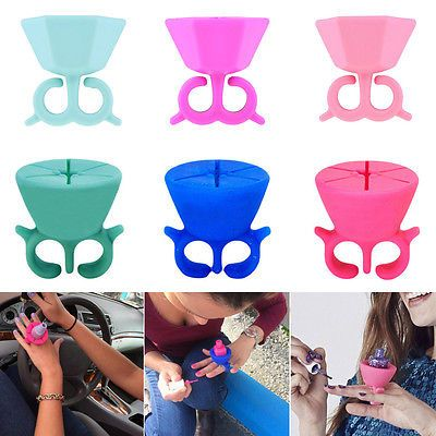 Nail Polish  Silicone Nail Art Polish Holder Flexible Durable Wearable Finger Bottle Stand *** AliExpress Affiliate's Pin.  Click the VISIT button to find out more on AliExpress website.