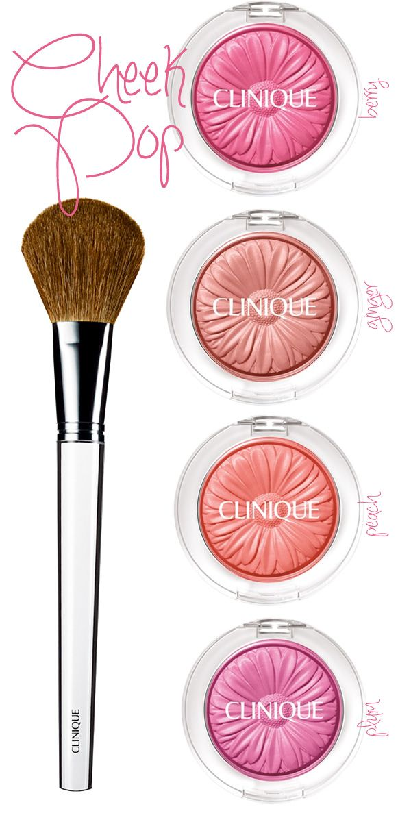 Fresh for Spring: Clinique Cheek Pop Blush.
