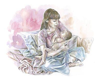 """Check out new work on my @Behance portfolio: """"Ilustração """"O dia em que nasce um filho"""""""" http://be.net/gallery/62649083/Ilustracao-O-dia-em-que-nasce-um-filho"""