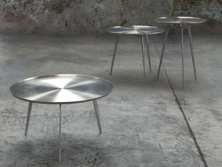 Round Steel Coffee Table T - GONG - ALIVAR