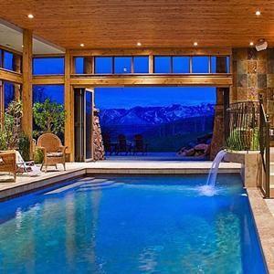 Best 25+ Indoor pools ideas on Pinterest   Dream pools, Inside ...