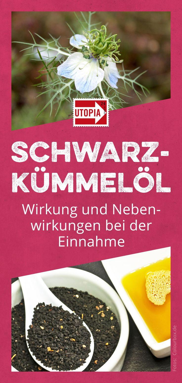 Schwarzkümmelöl: Wirkung und Nebenwirkungen bei der Einnahme Angelika Eglauer