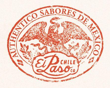 El Paso Chile Company  Salsa and Fajita Marinade Labels, logo