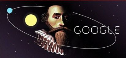 Johannes Keppler's 442nd birthday ... 17th century mathematician, astronomer and astrologist ...