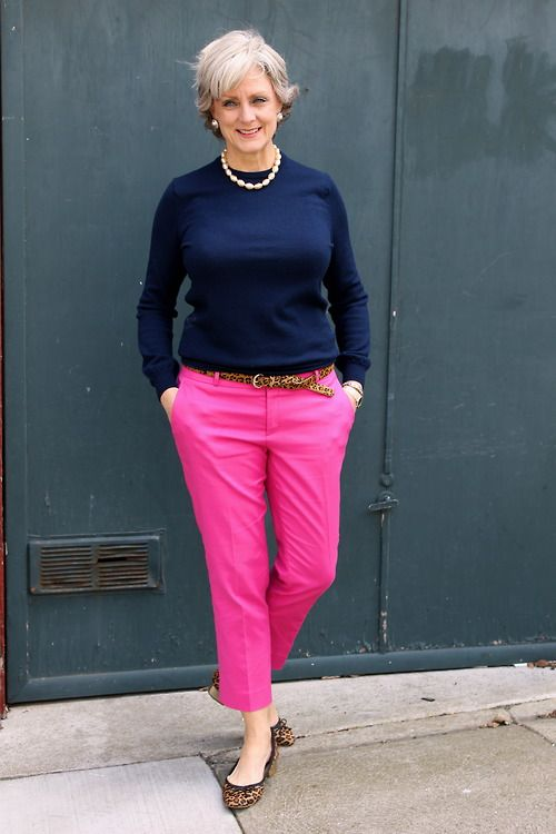 Preppy Style In 2019  Fashion, 50 Fashion, Pink Pants Outfit-3383