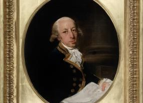 Captain Arthur Phillip, first Governor of New South Wales<br /><br />Captain Arthur Phillip, 1786, Francis Wheatley, Mitchell Library SLNSW