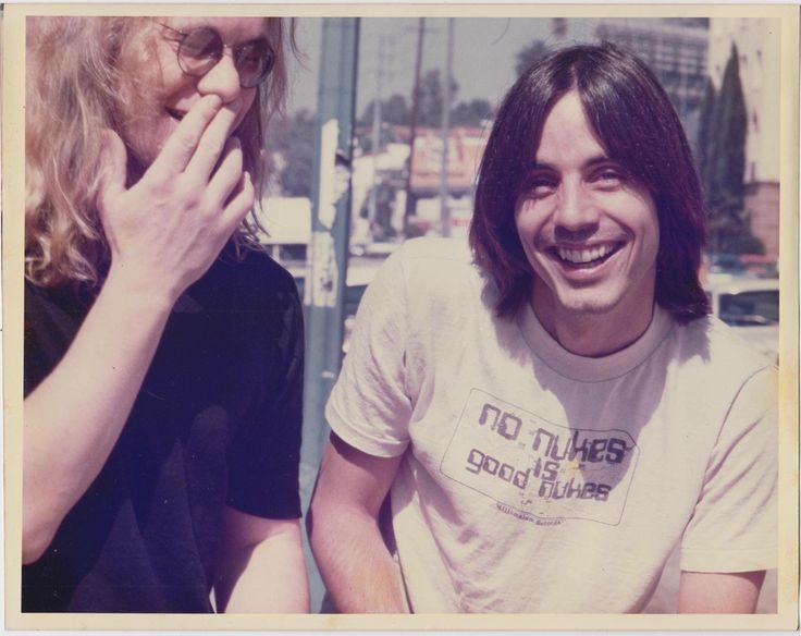 With Warren Zevon