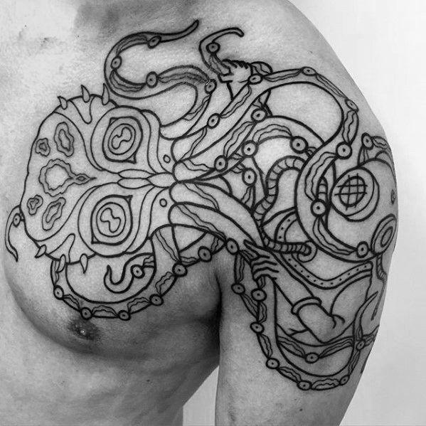 Image result for deep sea diver tattoo designs