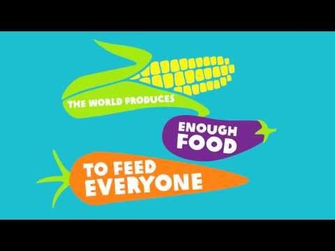 One in seven people on our planet go to bed hungry. Yet eighty per cent of these people are directly involved in food production. If they are producing and collecting food, how could they be missing out?    Want to know how to be part of a better food future? Watch this, the first of three animations that journey through the broken food system and explore the ways that we can build a world where everyone has enough to eat, always.