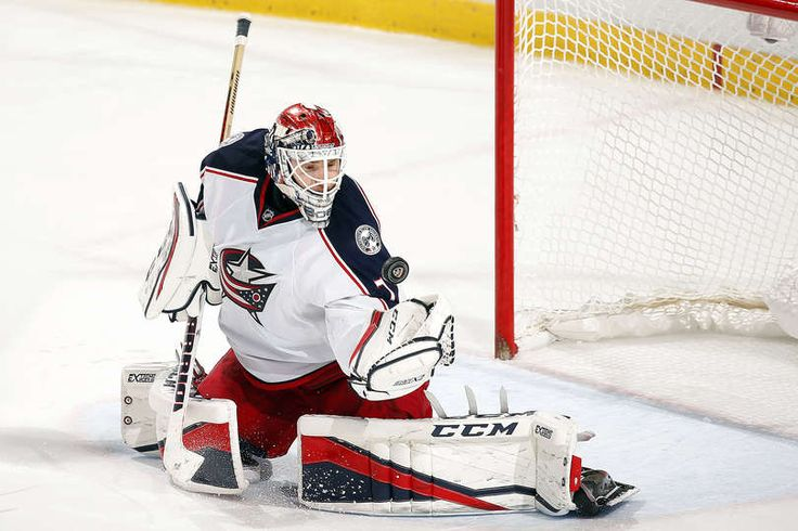 SUNRISE, FL - NOVEMBER 26: Goaltender Sergei Bobrovsky #72 of the Columbus Blue Jackets defends the net against the Florida Panthers at the BB&T Center on November 26, 2016 in Sunrise, Florida. (Photo by Eliot J. Schechter/NHLI via Getty Images)