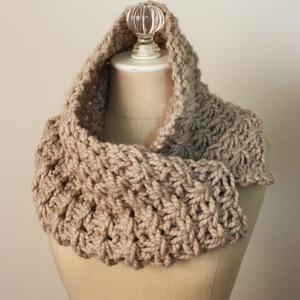 chunky cowl #crochet