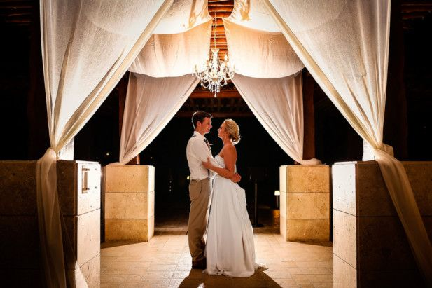 Dramatic wedding photography | Mexico destination wedding locations | Cancun beach wedding venues | Excellence Playa Mujeres (FineArt Studio Photography)