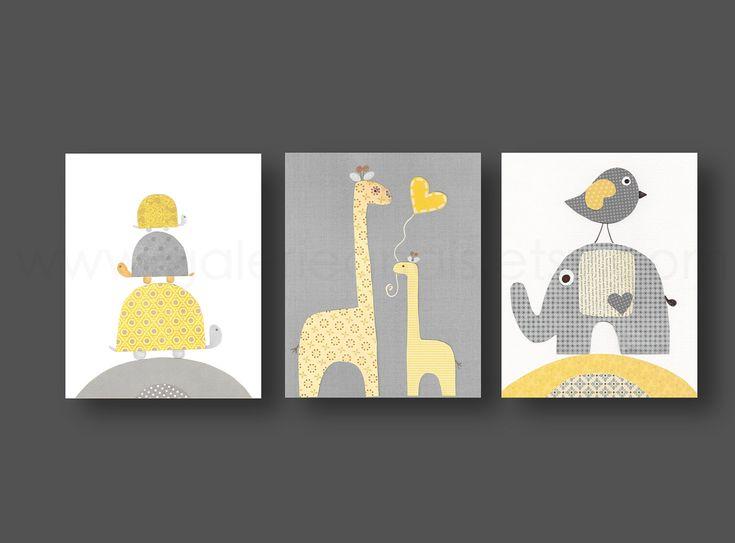 Baby Room Wall Art best 20+ yellow gray nurseries ideas on pinterest | gray yellow
