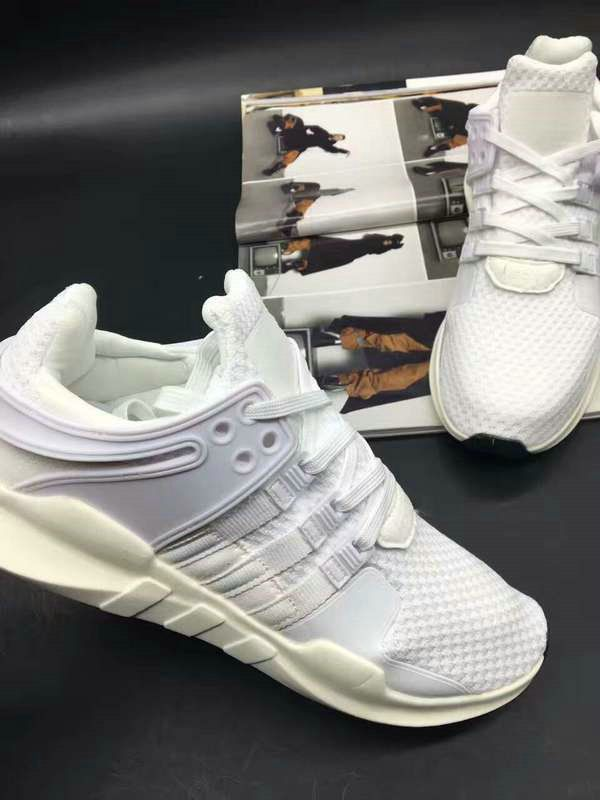 outlet store de00f 9fca3 Discount Adidas EQT running support 93 Primeknit Triple White For Cheap