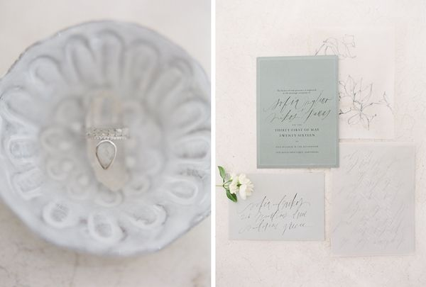 Classical Greece inspirations. Romantic and modern wedding stationary ideas and calligraphy.