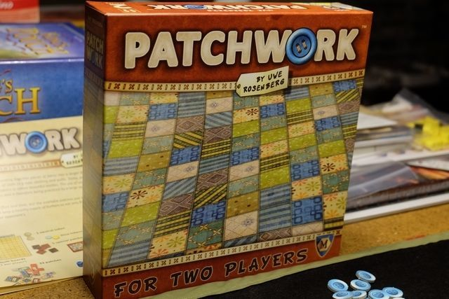 NEW patch work PATCHWORK board game Uwe Rosenberg FAST SHIP quilt button coins #Patchwork