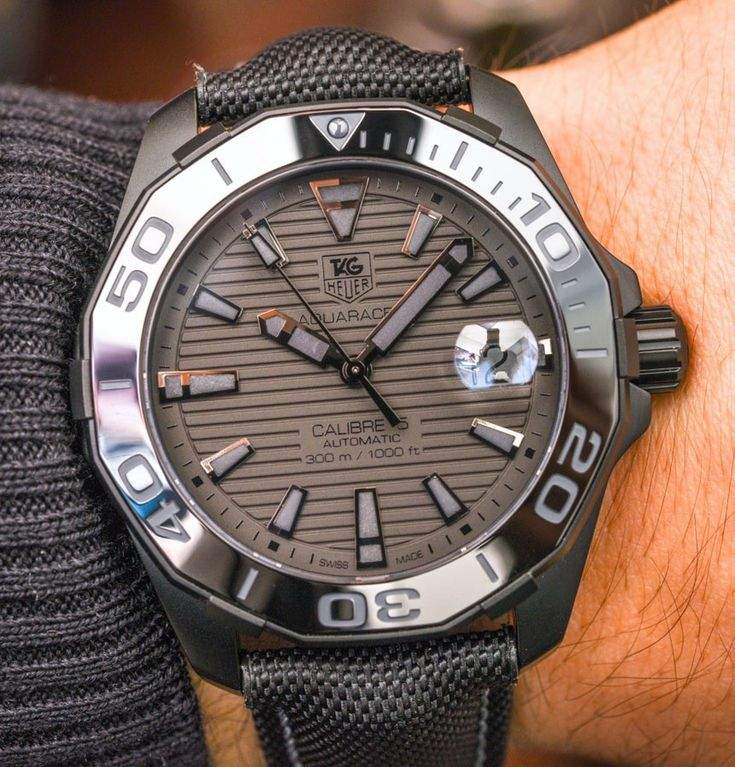 TAG Heuer Aquaracer 300M Ceramic Bezel Watch Collection For 2015 Hands-On