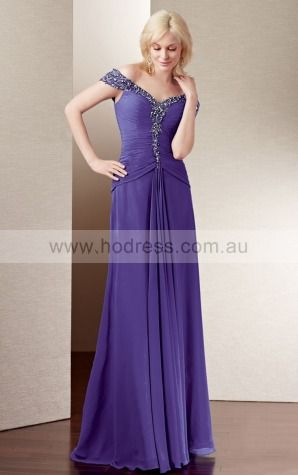 Zipper Floor-length Natural A-line Chiffon Formal Dresses aiga307026--Hodress