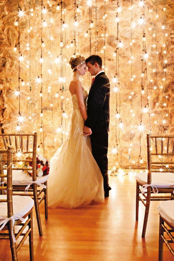 swoon worthy wedding lights ideas