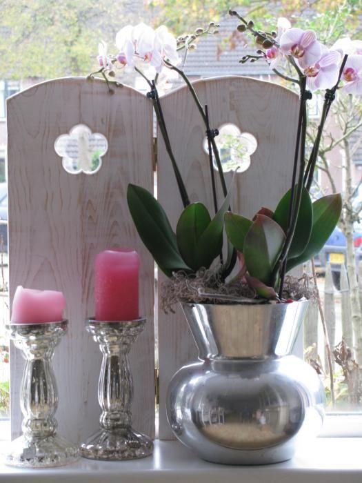 Raamschermen » Raamscherm Eva, bloem | De Soetelaer www.desoetelaer.nl