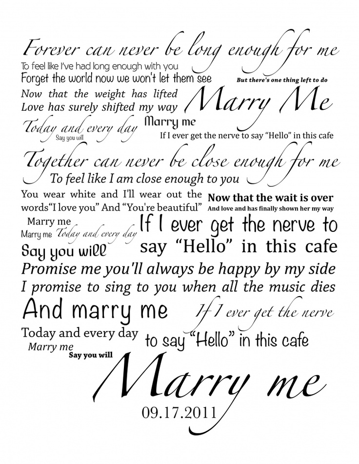 Lyric lyrics promise : Best 25+ Marry me lyrics ideas on Pinterest | Best song lyrics ...