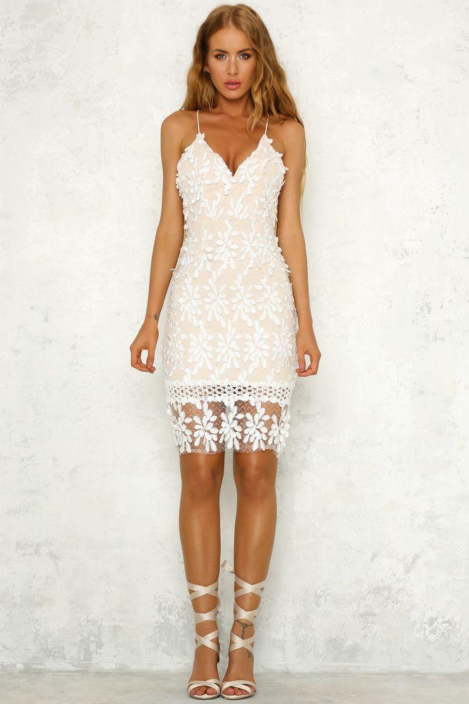 Dream In Peace Dress White
