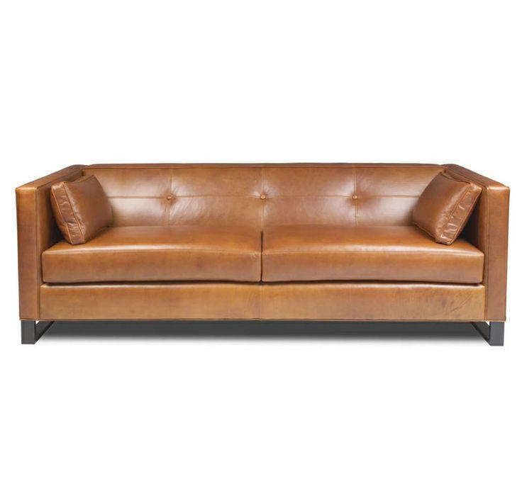 Ambassador sofa in vintage leather