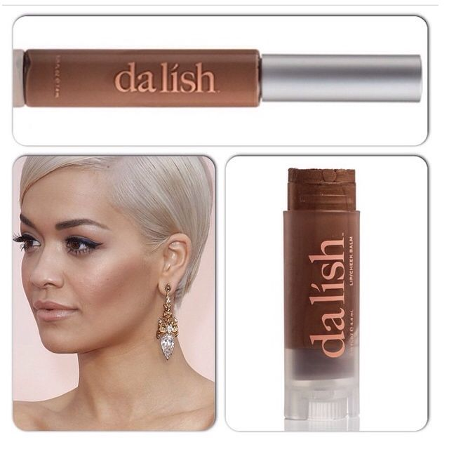 Loving Rita Ora's makeup! So simple & chic. Get this look using our GO1 nude lip gloss and BO4 bronzer. www.instagram.com/dalishcosmetics  www.dalishcosmetics.com