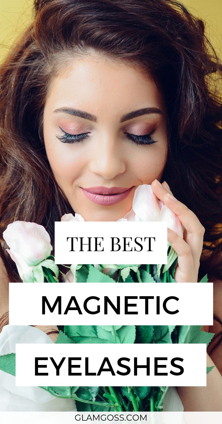 how to apply magnetic lashes without liner