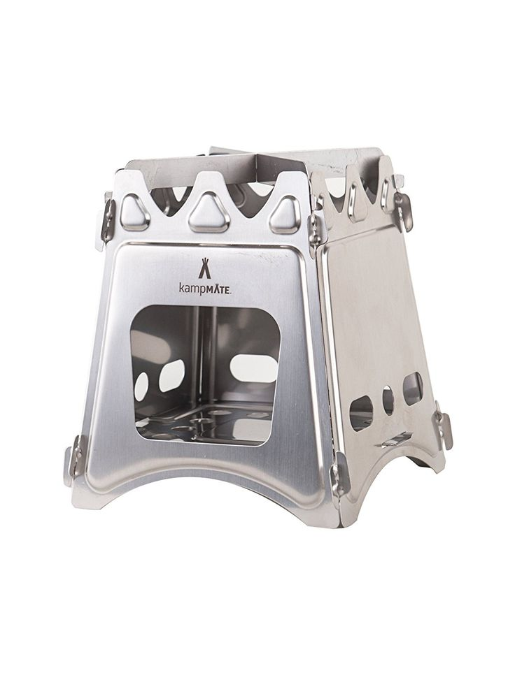 kampMATE WoodFlame Ultra Lightweight Wood Burning Stove >>> Read more  at the image link.