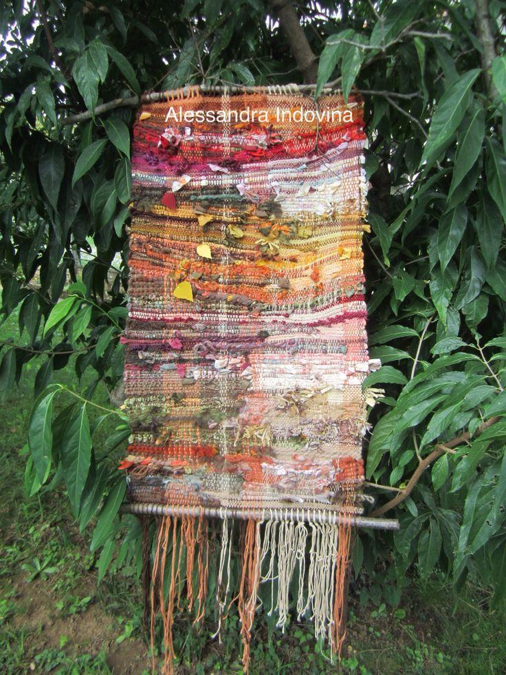 """Weaving. Arazzo """"Autunno"""""""