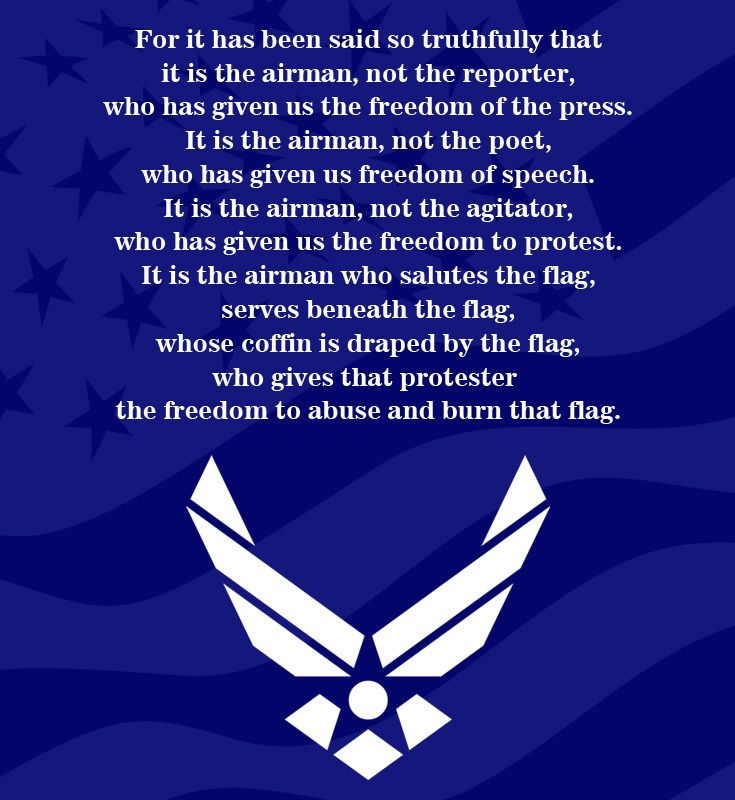 Air Force Retirement Prayers Just B Cause