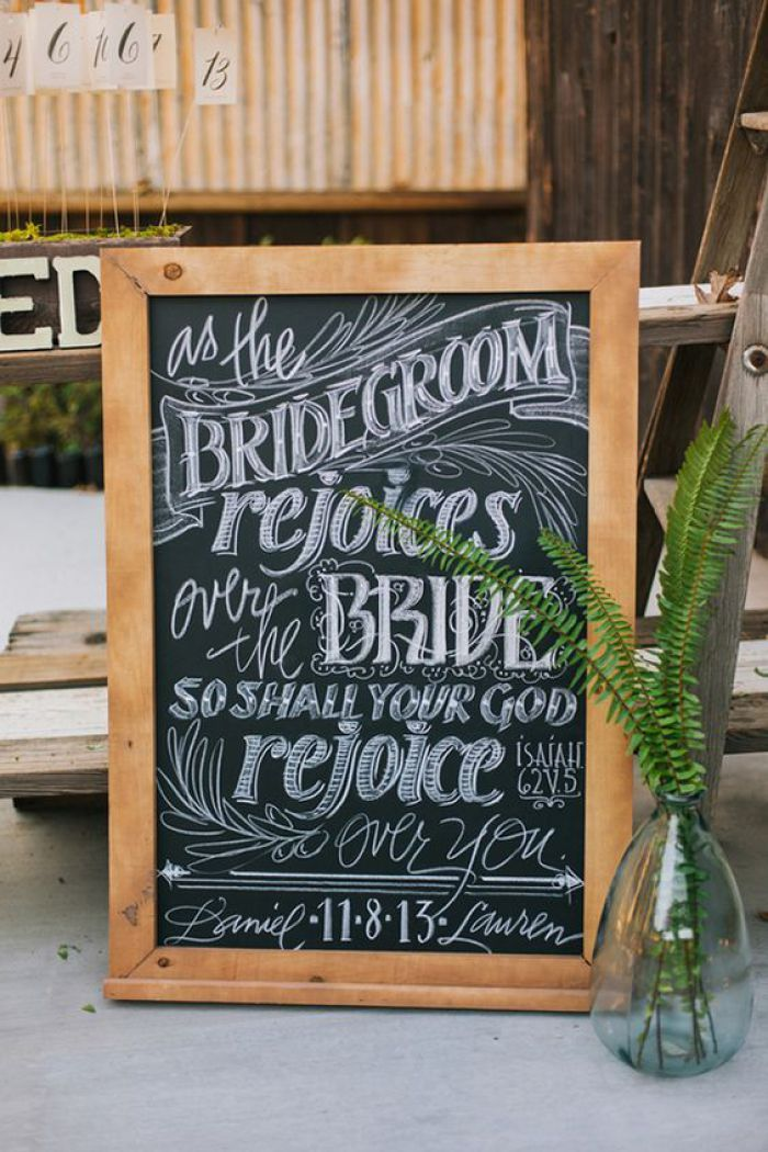 Christian Wedding Signs