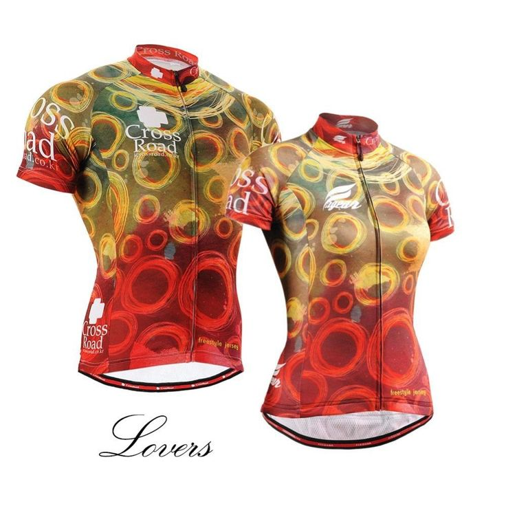 28.38$  Buy here  - For Lovers Cycling Jersey Short Sleeve Bike Jersey Couture Colorful Long-lasting Printing Full Zipper MTB Mountain Bike Clothing