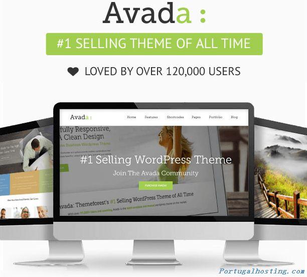 O tema Avada é o recordista da Themeforest ao nível de vendas, é um tema multi-purpose para WordPress. É limpo, ágil, super flexível, inclui... #wordpress #avada #theme