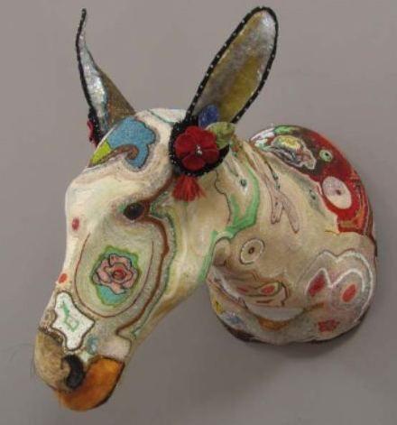 17 best images about paper mache on pinterest horns for Best paper for paper mache