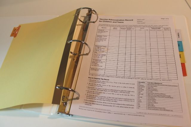 how to create a personal health binder to organize your health records